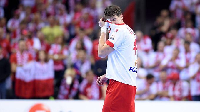 """Polens Piotr Chrapkowski nach der """"Blamage""""."""