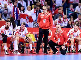 Für Polens Coach Michael Biegler bedeutete die Schmach gegen Kroatien ein doppeltes Aus, er trat zurück.