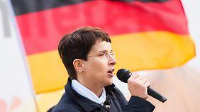 Die Bundesvorsitzende der AfD Frauke Petry.