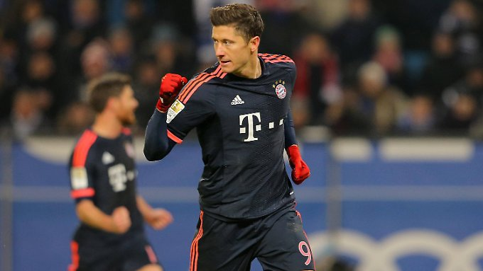 Definitiv fit: Robert Lewandowski, FC Bayern München.