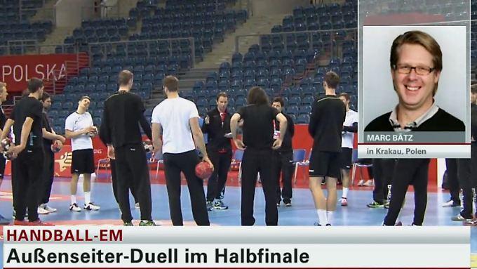 """Marc Bätz zum Handball-EM-Halbfinale: """"Sehe im Spiel Deutschland gegen Norwegen keinen klaren Favoriten"""""""