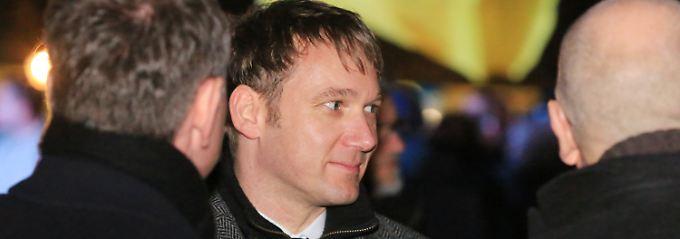 André Poggenburg führt die AfD in den Wahlkampf für die Landtagswahl in Sachsen-Anhalt am 13. März.