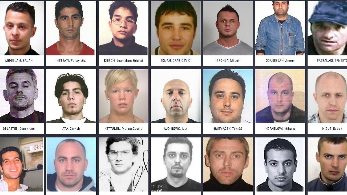 Europol Fahndung