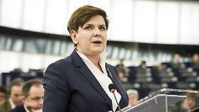 Polens Regierungschefin Beata Szydło.