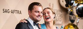 Sag-Award als Oscar-Barometer: Schauspielergilde ehrt DiCaprio mit Preis
