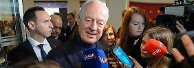 """UN-Sondervermittler de Mistura zeigt sich nach dem Treffen """"optimistisch""""."""