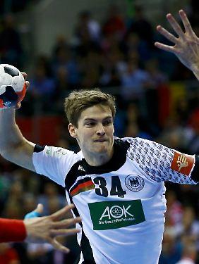 Rune Dahmke bringt Deutschland in Führung.