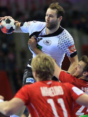 Steffen Fäth darf mit dem DHB-Team zu den Olympischen Spielen nach Rio fahren.