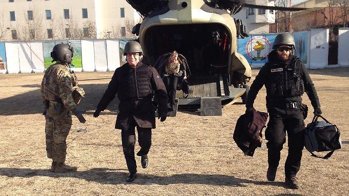 Sicherheit ist in Afghanistan relativ, wie Innenminister de Maizière bei seinem Besuch in Kabul Anfang des Monats merkte.