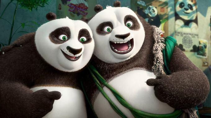 """Im März läuft """"Kung Fu Panda"""" in Deutschland an."""