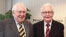 Hans-Jochen Vogel mit seinem Bruder Bernhard