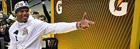 Super-Bowl-Sieg? Nur die Panthers!: Cam Newton - großartiger Großkotz