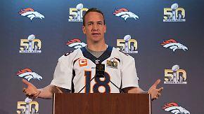 """Broncos-Quarterback Manning: Super-Bowl """"wird kein eins gegen eins"""""""