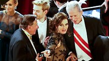 Zickige Ehefrau, lahmer Stargast: War das Lugners letzter Opernball?