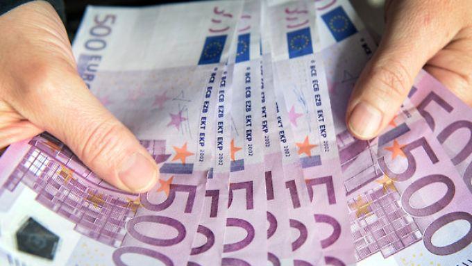 Möglicherweise wird der 500-Euro-Schein abgeschafft.
