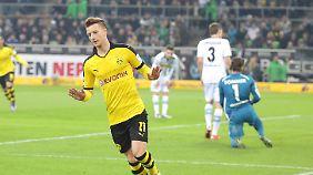 Marco Reus musste vergangene Woche in der Bundesliga wegen eines Virus passen.