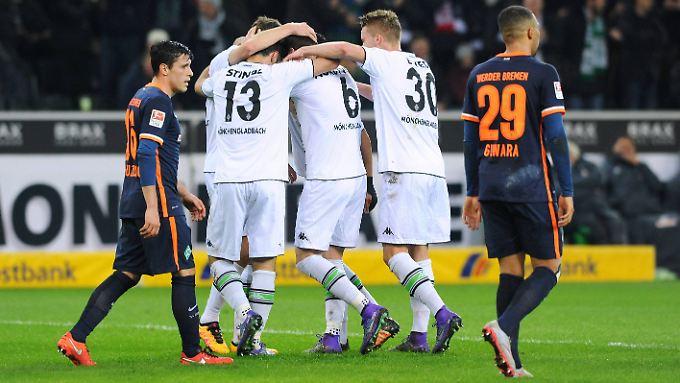 Fünf Tore schossen die Gladbacher zum Saisonstart