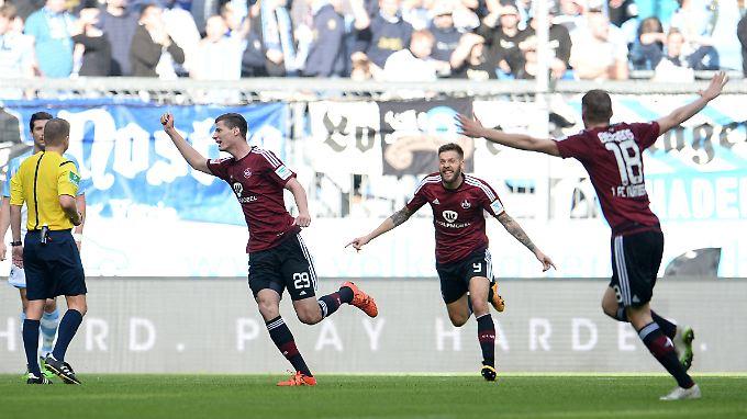 Ein Tor reichte Nürnberg zu drei Punkten in München.