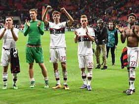 Thomas Müller sieht seinen FC Bayern äußerst gefestigt und ist völlig unbesorgt.