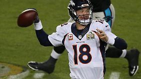 Der Quarterback der Denver Broncos: Peyton Manning.