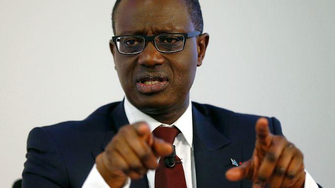 Tidjane Thiam hat den Chef-Posten im Juli übernommen und dem Institut eine Neuausrichtung verordnet.