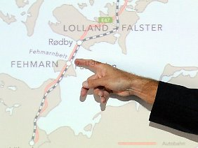 Europa größtes Bauprojekt: Im Norden Fehmarns soll der dänische Tunnel Deutschland erreichen.