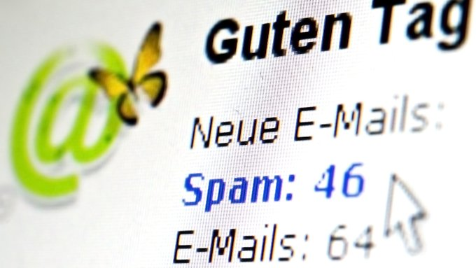 """""""Sie haben Spam"""": Vom rapiden Anstieg der Spam-Mails bekommen viele Nutzer gar nichts mit, da die E-Mail-Provider sie herausfiltern."""