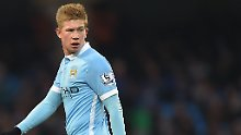 ++ Fußball, Transfers, Gerüchte ++: Allofs: De Bruyne sahnt 100 Millionen ab