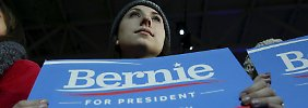 Republikaner kämpfen um Platz zwei: Sanders macht Clinton in New Hampshire nervös