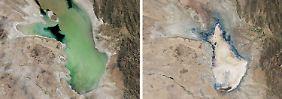 Zweitgrößter See trocknet aus: Lago Poopó geht das Wasser aus