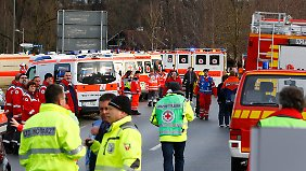 Großeinsatz für Feuerwehr und Sanitäter nahe Bad Aibling.
