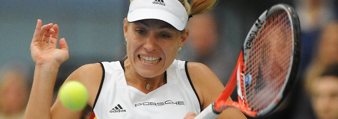 Gegen den Abstieg: Angelique Kerber.