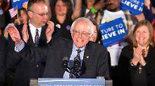 Primary in New Hampshire: Sanders und Trump gewinnen Vorwahlen
