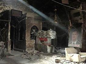 Zerstörung in Aleppo