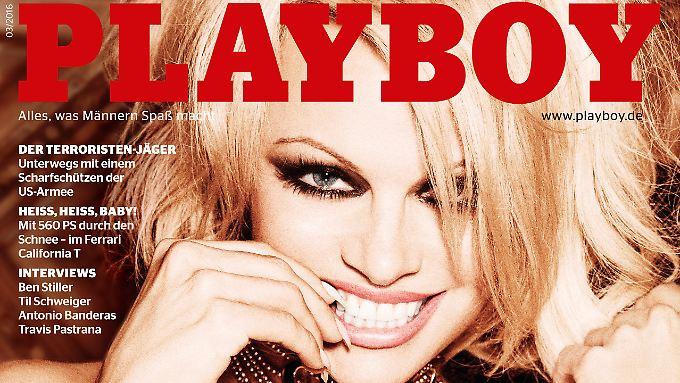 """So sieht der deutsche """"Playboy"""" im März aus."""