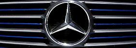 Derzeit ist der Mercedes-Stern das Maß aller Dinge.