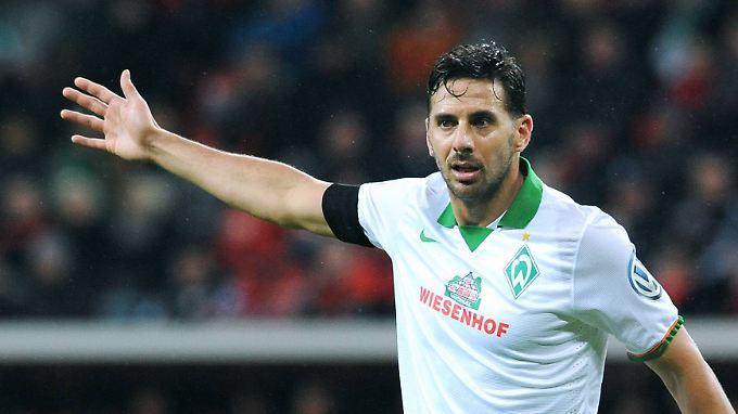 Wie bitte, München? Claudio Pizarro und Werder Bremen haben in dieser Pokalsaison nicht wirklich Glück mit der Auslosung.