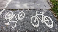 Unzufrieden mit der Politik: Jeder zweite Radfahrer fühlt sich unsicher