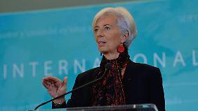 Für eine weitere Amtszeit bereit: IWF-Chefin Christine Lagarde.