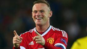 Wayne Rooney und Manchester United haben finanziell allen Grund zum Jubeln.