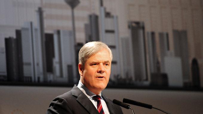 """Die aktuelle Lage sei """"nicht im Geringsten mit der Lehman-Krise 2008 vergleichbar"""", sagt Bundesbank-Vorstand Andreas Dombret"""