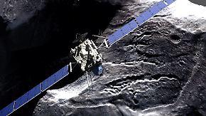 """""""Alle hatten Tränen in den Augen"""": Rosetta beendet historische Weltraummission"""