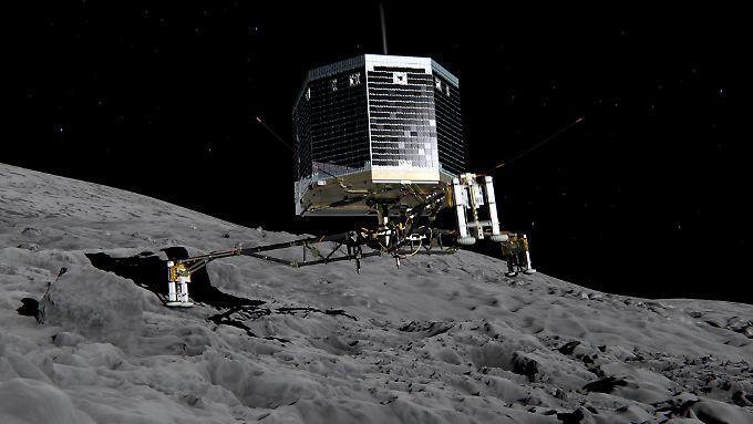 """In den vergangenen Monaten hatten die Forscher bereits keine Funksignale mehr von """"Philae"""" empfangen."""