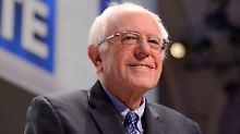 Verwechslung mit Bruce Rappaport?: Streit um Echtheit von Sanders-Wahlkampf-Foto