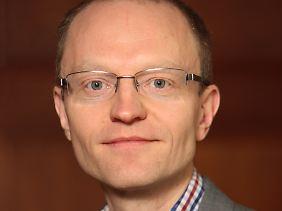"""Stefan Meister ist Programmleiter Osteuropa, Russland und Zentralasien bei der Denkfabrik """"Deutsche Gesellschaft für Auswärtige Politik""""."""