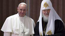 Historische Erklärung in Havanna: Franziskus und Kirill rücken zusammen
