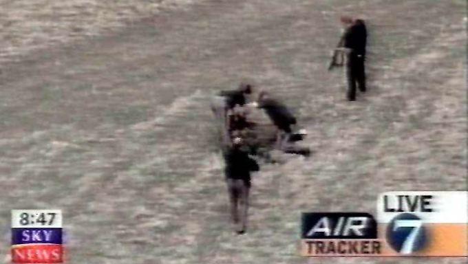 Bilder des Senders Sky News vom Massaker.
