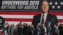 Marketing-Clou von Netflix: Wäre Underwood der bessere Trump?