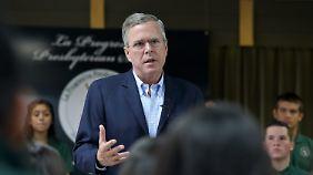 Vor einem Jahr noch galt Jeb Bush als Favorit. Das ist vorbei.