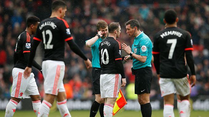 Nichts zu holen gab es für Man-United-Star Wayne Rooney in Sunderland.